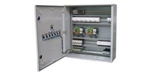 Armoire de gestion système multi-pompes de forage avec gestion de niveau stockage.