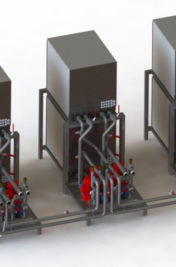 Conception 3D PAC modulaire Chartre